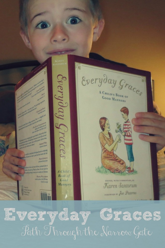 Do you want to teach your children good manners? Everyday Graces is a great place to start
