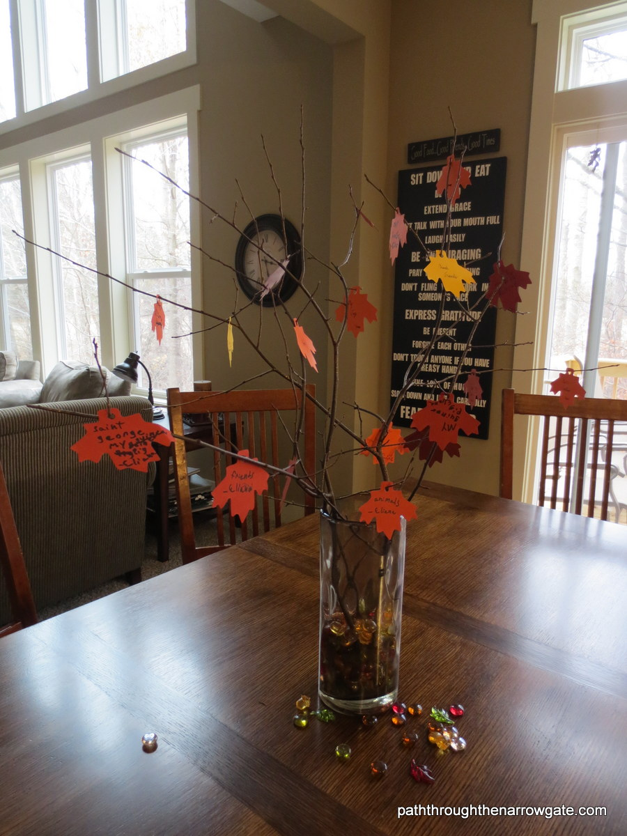 Thankful tree craft - so easy and fun!