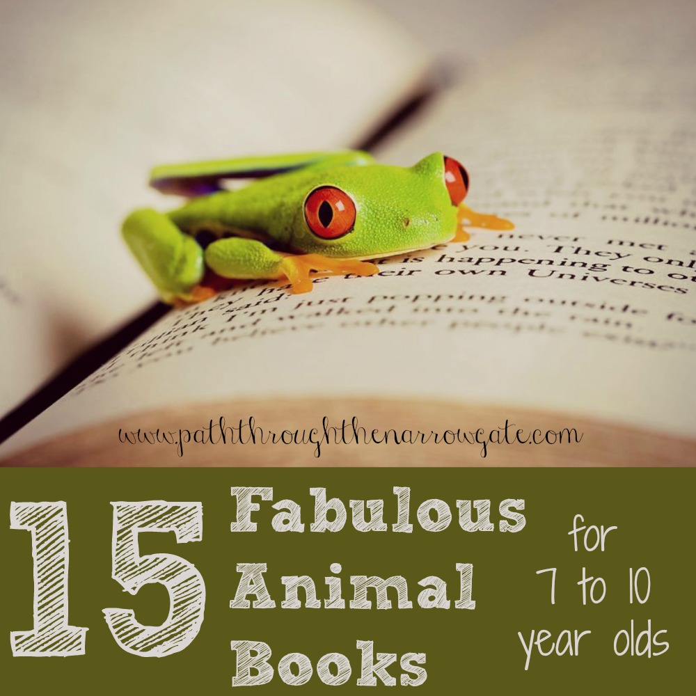 Tired of wandering around the library, trying to find a great book for your seven to ten year old? Try some of these fabulous animal books and stories!