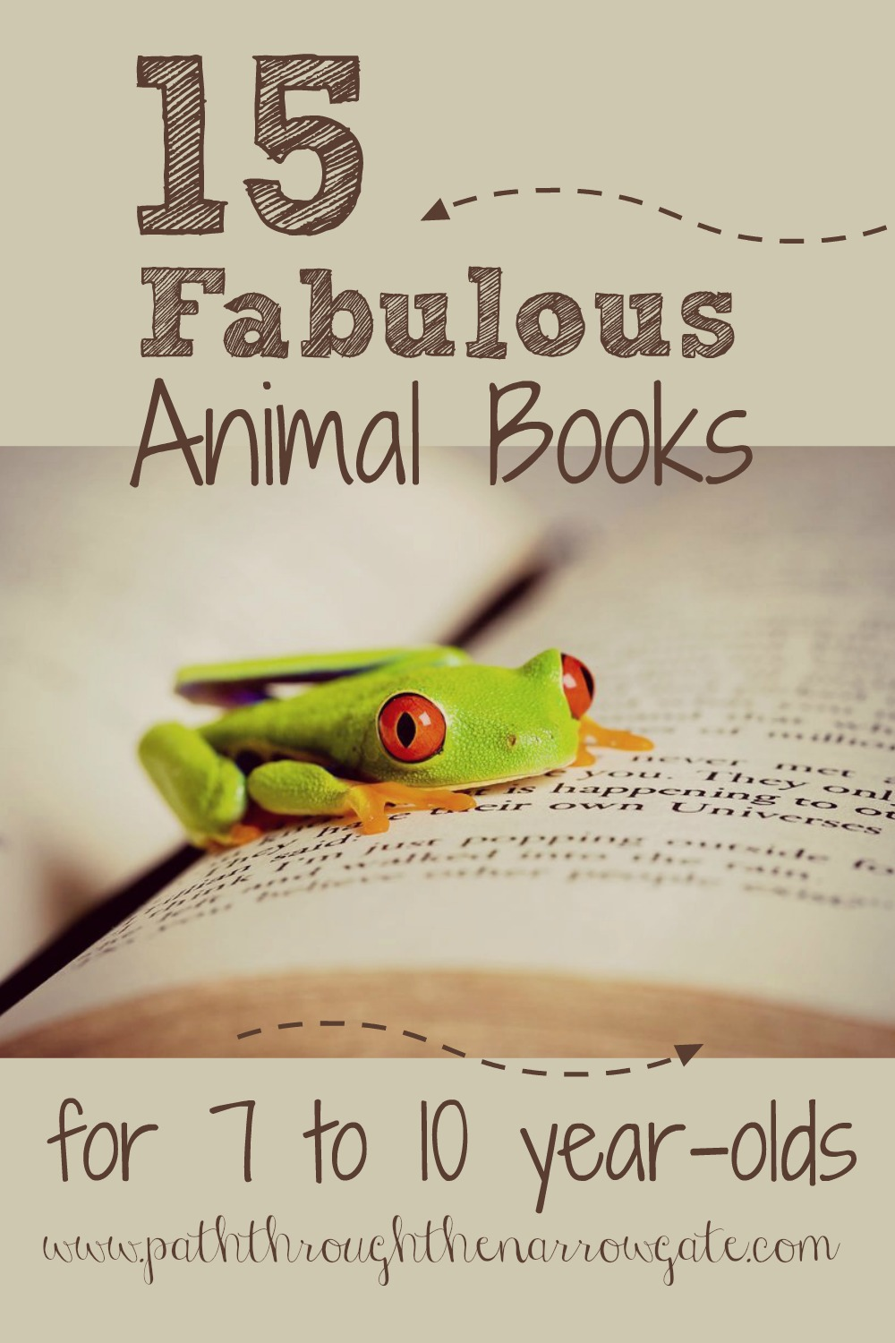 This is such a great list of books for an seven to ten year old animal lover. Am pinning this to keep it handy for the next time I go to the library.