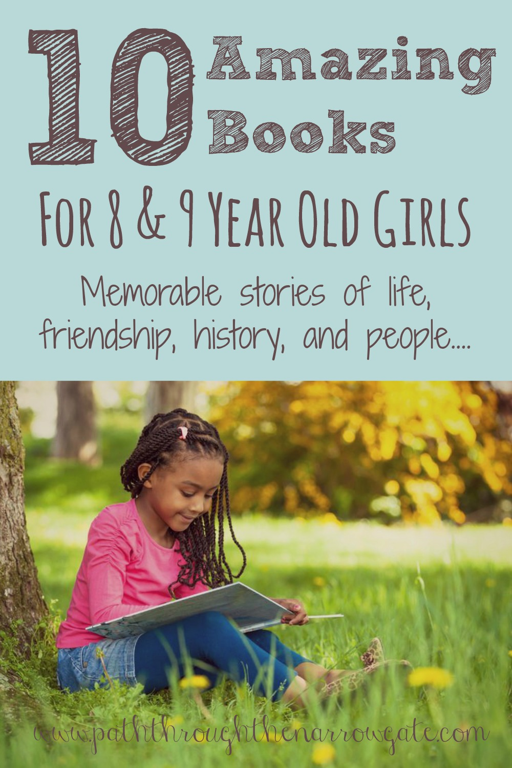 This list includes some of the books I remember reading when I was growing up. I can't wait to share these with my girls!