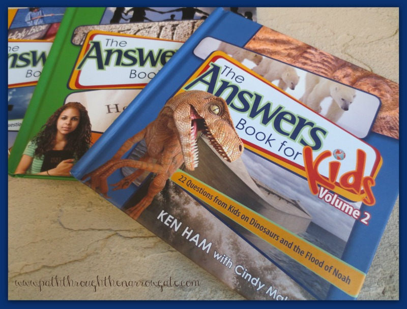 Do your kids ask impossible questions about the Bible? If so, The Answers Books for Kids may become your best friend. These engaging books are compilations of children's questions answered by Ken Ham and Cindy Malott, providing fascinating scientific facts and faith-boosting solutions to some of the confusing parts of the Bible.