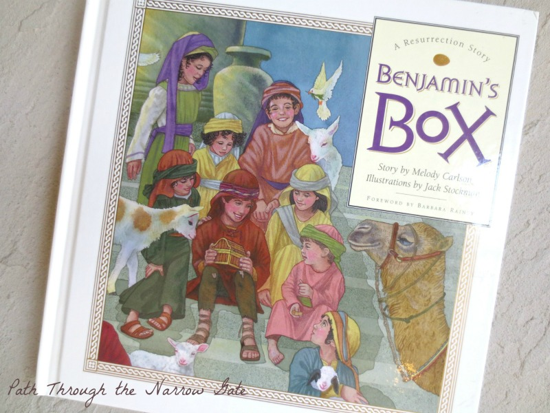 Are you looking for a meaningful Easter tradition? Benjamin's Box and the Resurrection Eggs help us place Jesus Christ and the message of the Gospel back into the center of Easter.
