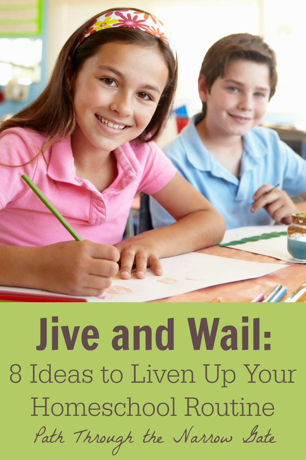 Has all the joy of learning flown out your homeschool window? Are you and your children enduring day after day of drudgery? Try implementing a few of these ideas to liven up your homeschool routine.