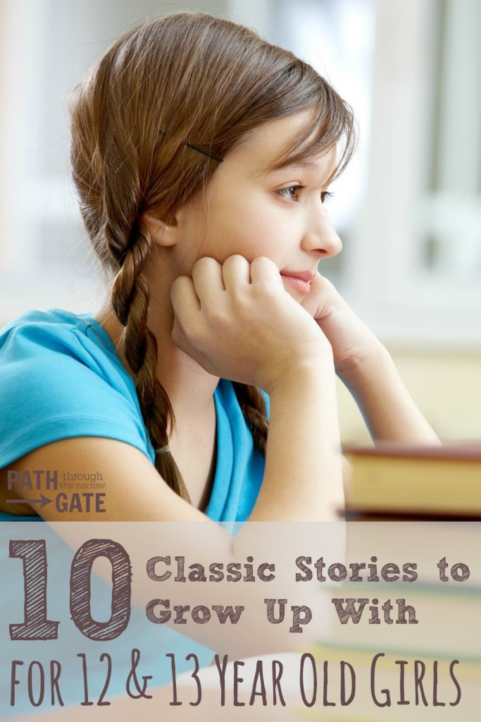These classic stories for 12 & 13 year old girls are fascinating adventures that will stay with your girls long after they have turned the last page.