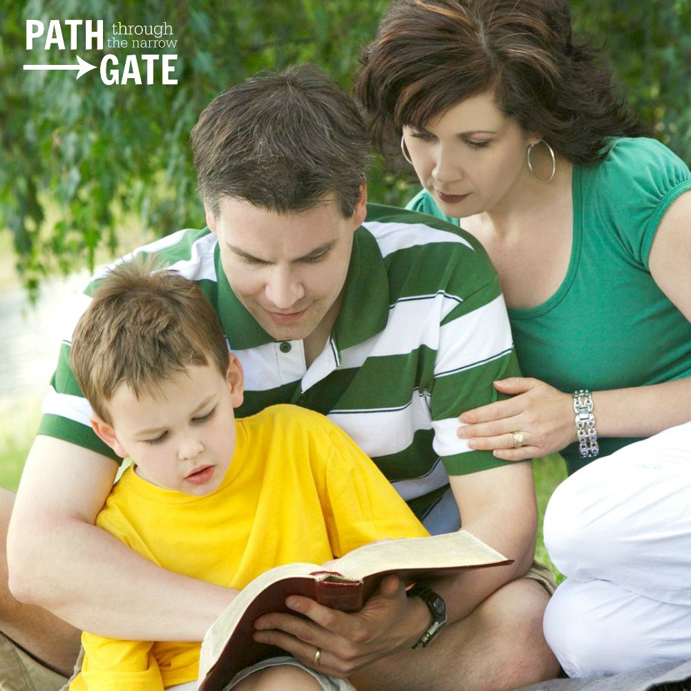 The Bible is God's Living Word, and it is written for children and adults! You can intentionally teach your children that God's Word is for them.