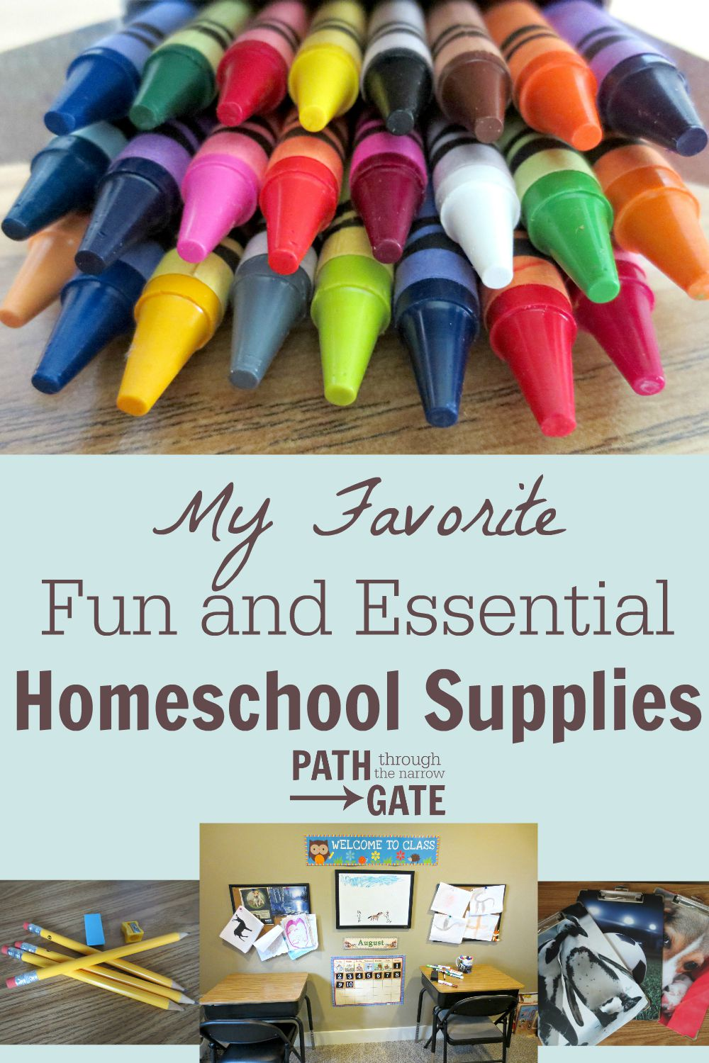 Its almost time to start school! Here is a list of some of my favorite fun and essential homeschool supplies.
