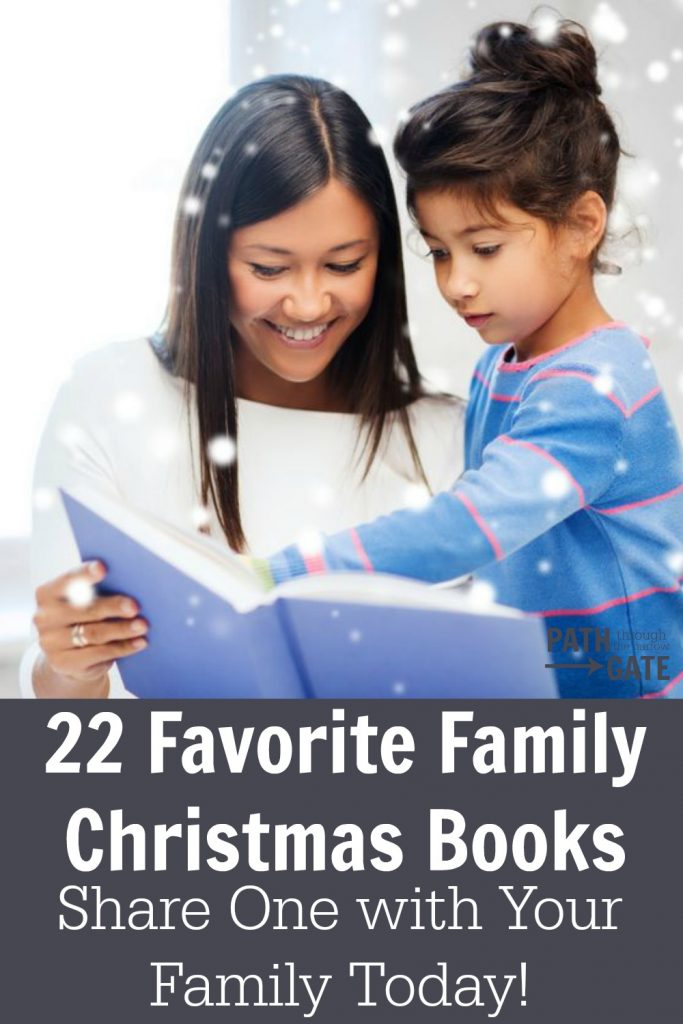 In my family, we love Christmas and we love books. Here's a glimpse of our favorite family Christmas books.
