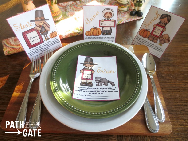 Thanksgiving place holders 1