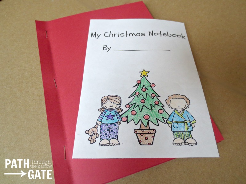 Christmas Notebook - Path Through the Narrow Gate