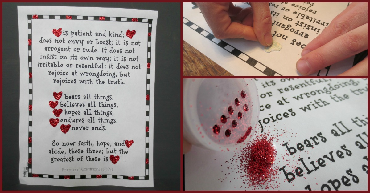 Valentine Heart Craft