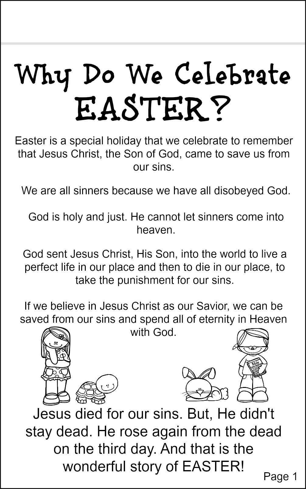 Easter Notebook P on christian easter egg coloring pages