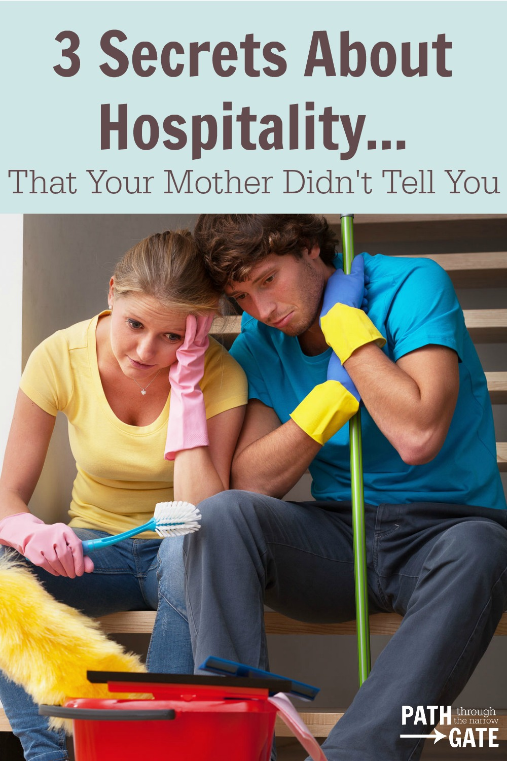 Do you feel overwhelmed by the thought of hospitality? Here are three secrets that make hospitality much easier, that your mother may not have told you!|Path Through the Narrow Gate