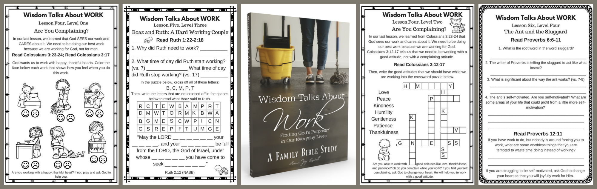 Wisdom Talks About Work: Finding God's Purpose In Our Everyday Lives