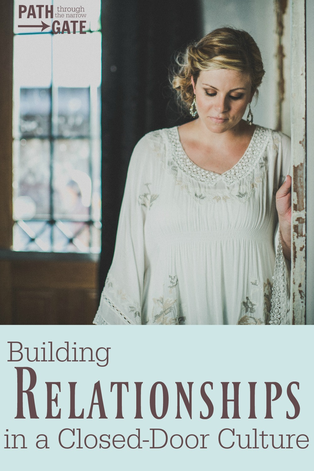 """Are you intentionally putting yourself """"out there"""" to build relationships with your neighbors for the sake of sharing your faith? Here's some encouragement and ideas to help you do just that."""