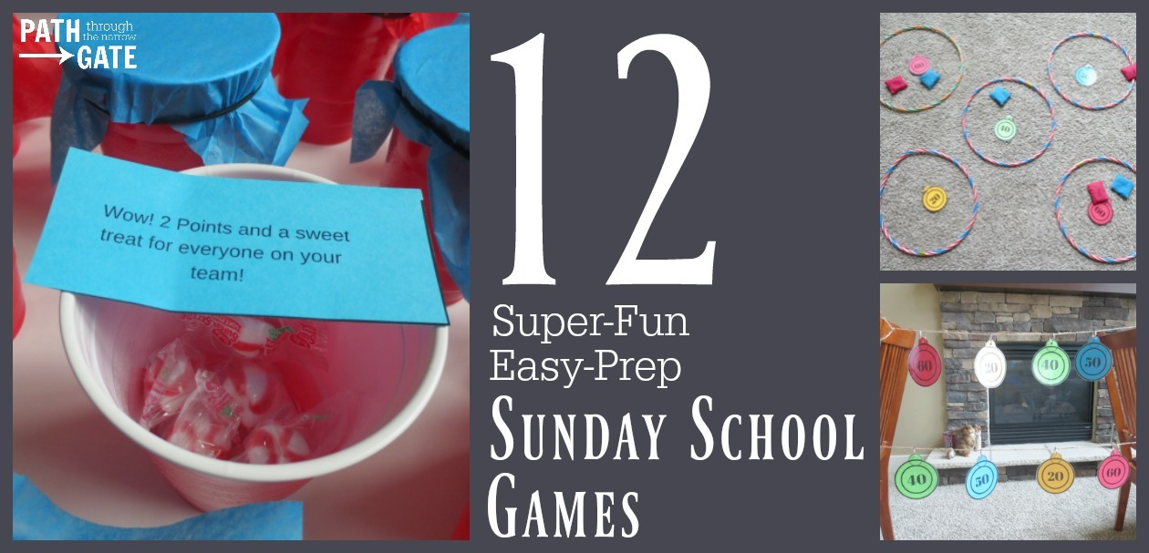 12 Super-Fun, Easy-Prep Sunday School Games Your Students