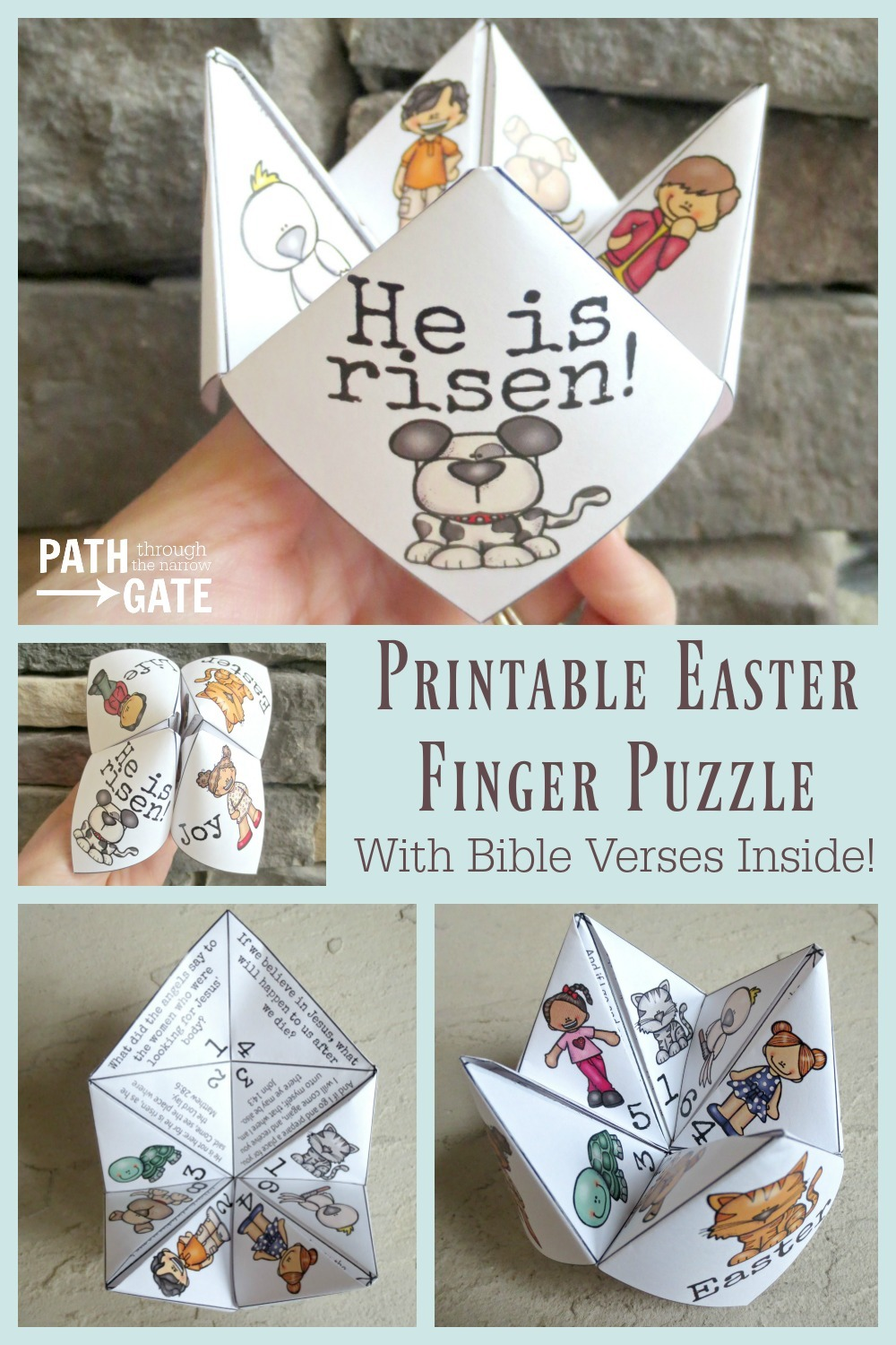 Looking for a simple yet super-fun craft for Easter? These adorable Easter Finger Puzzles are perfect to make at home with your own kids or in a classroom.