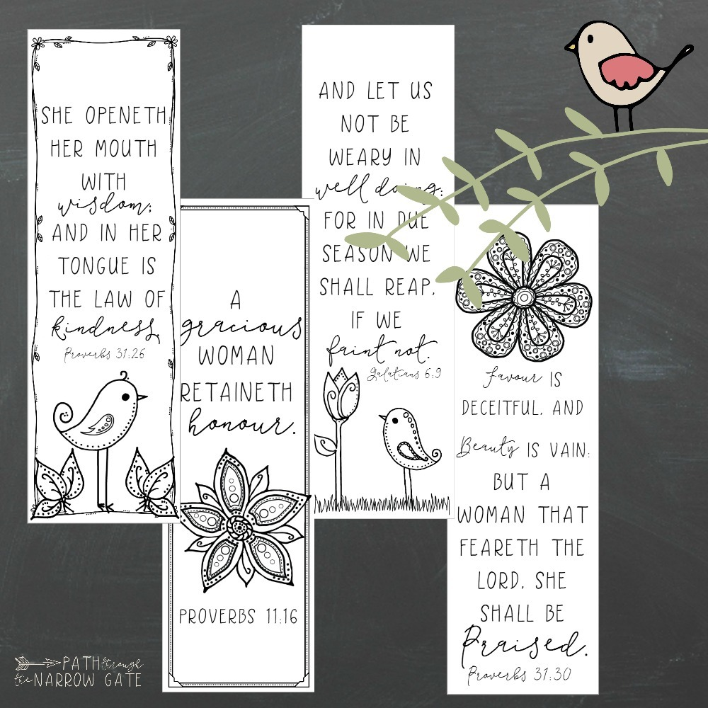 printable bookmarks for moms