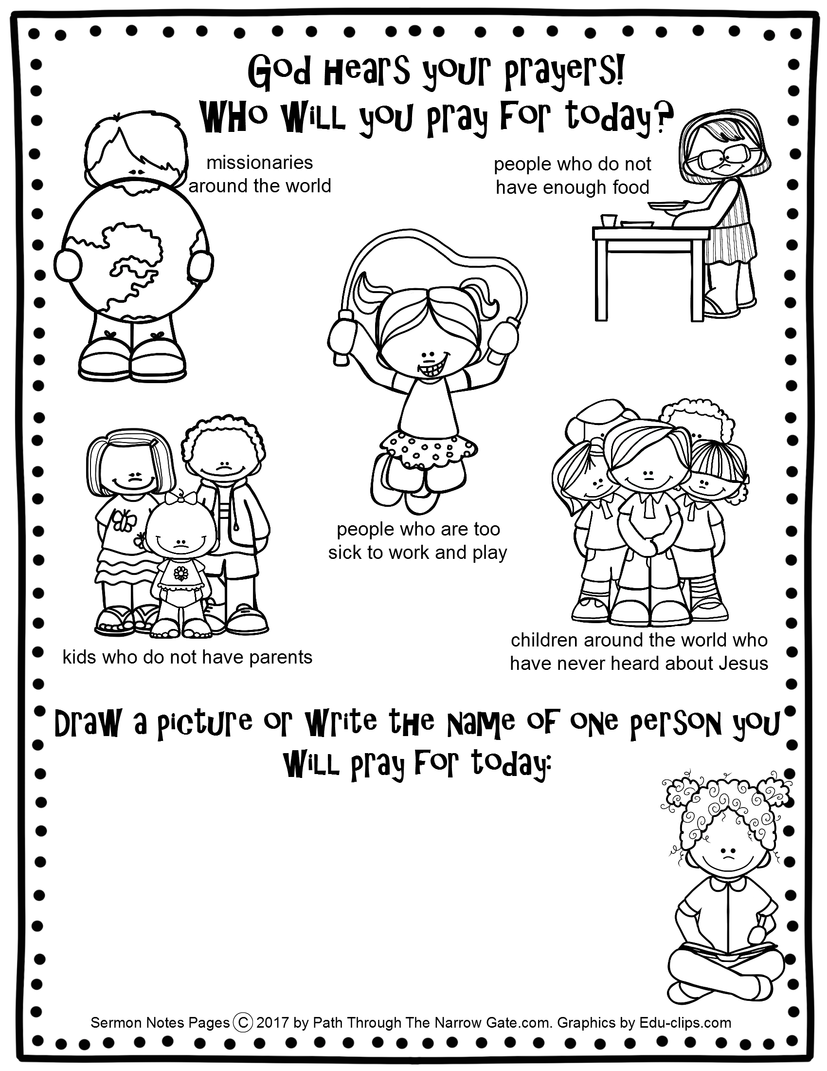 coloring pages childrens sermon - photo#30