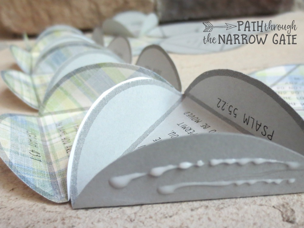 Quot Fear Not Quot Paper Globe Craft Path Through The Narrow Gate