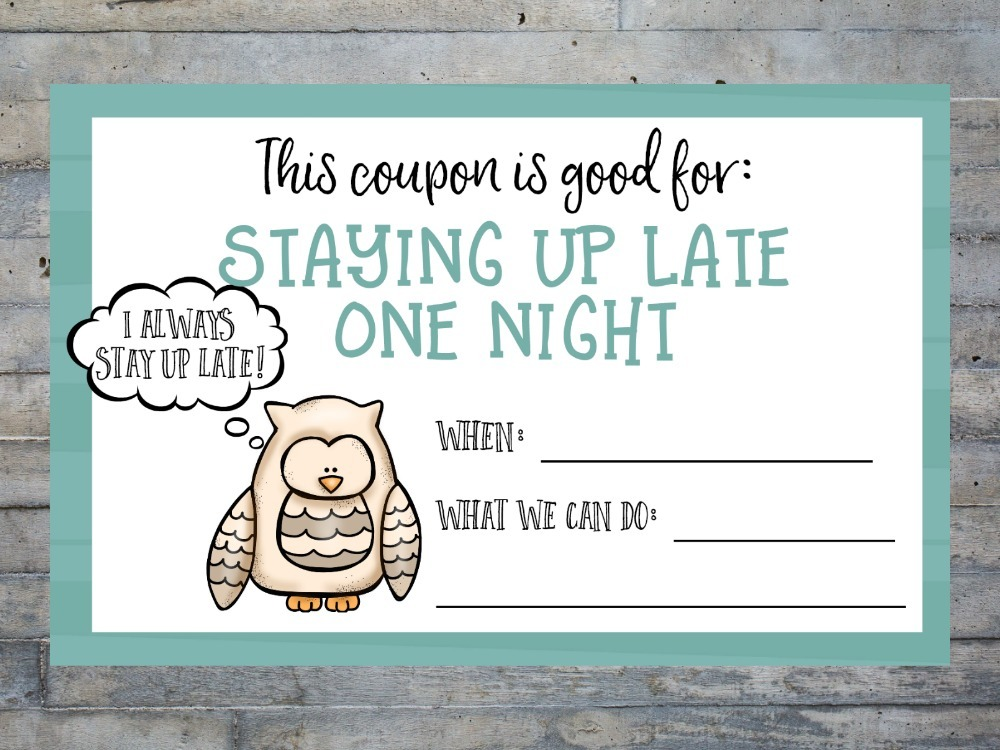 Are you looking for a way to slow down and spend more time with your kids? Make memories? Deepen relationships? Try these free printable coupon cards!