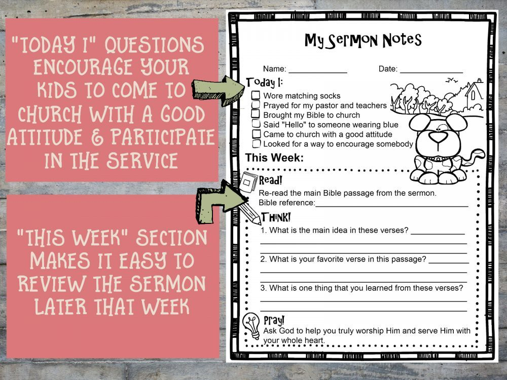 photograph regarding Free Printable Notes Page titled Printable Sermon Notes Sheet - Way For the duration of the Slender Gate