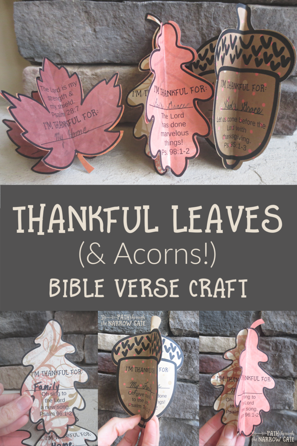 Looking for a simple way to encourage your kids to be thankful? Try making this cute Thankful Leaves Bible Verse Craft. Perfect for Sunday School or home!