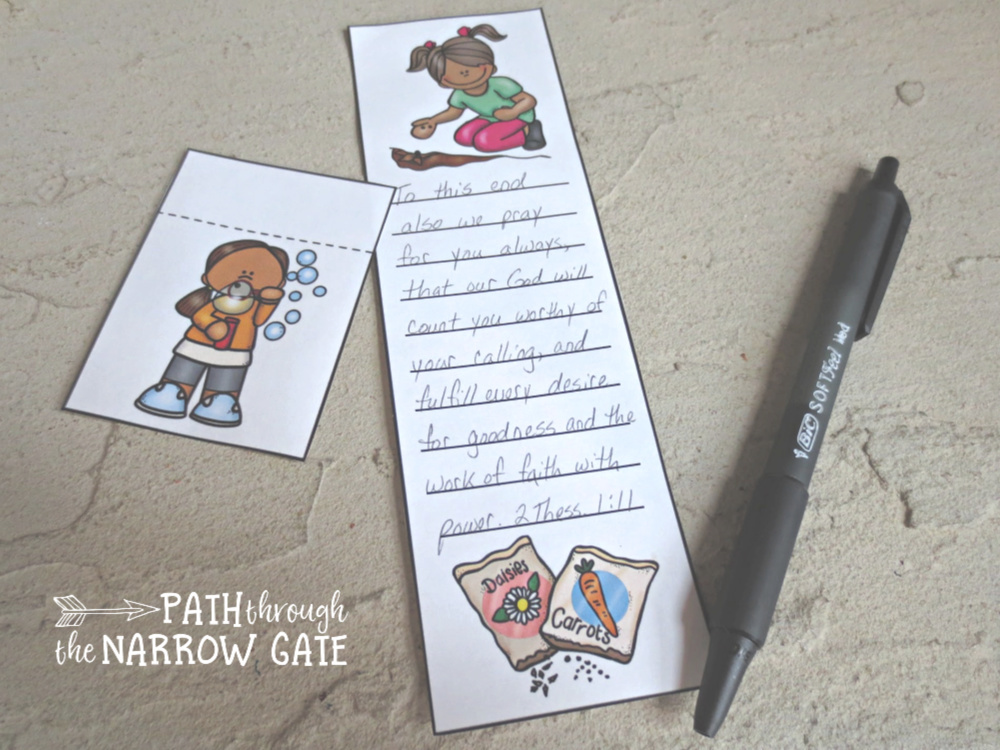 Celebrate spring with these super cute printable Bible verse bookmarks. They can be used with any Bible verse - perfect for home or classroom use!